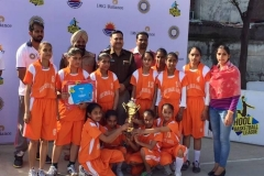 S.P.S. Academy Basket Ball team got 2nd position in IMG Reliance powered Challender's league