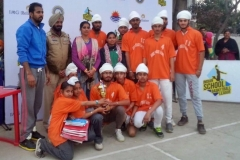 S.P.S. Academy Basket Ball team got 2nd position in IMG Reliance powered Challender's league_1