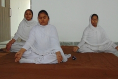 Students During Yoga